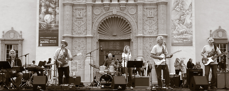 The Koalas at San Diego Zoo Centennial, Balboa Park, Main Stage, May 2016